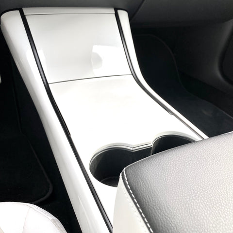 Model 3 Dome Light Covers - Front & Rear Carbon Fiber Coated (Only $29 w/ 20% OFF)