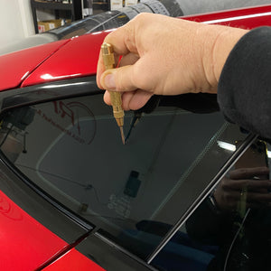 Model S Rear Corner Window Protector Kit - $45 with 20% Off