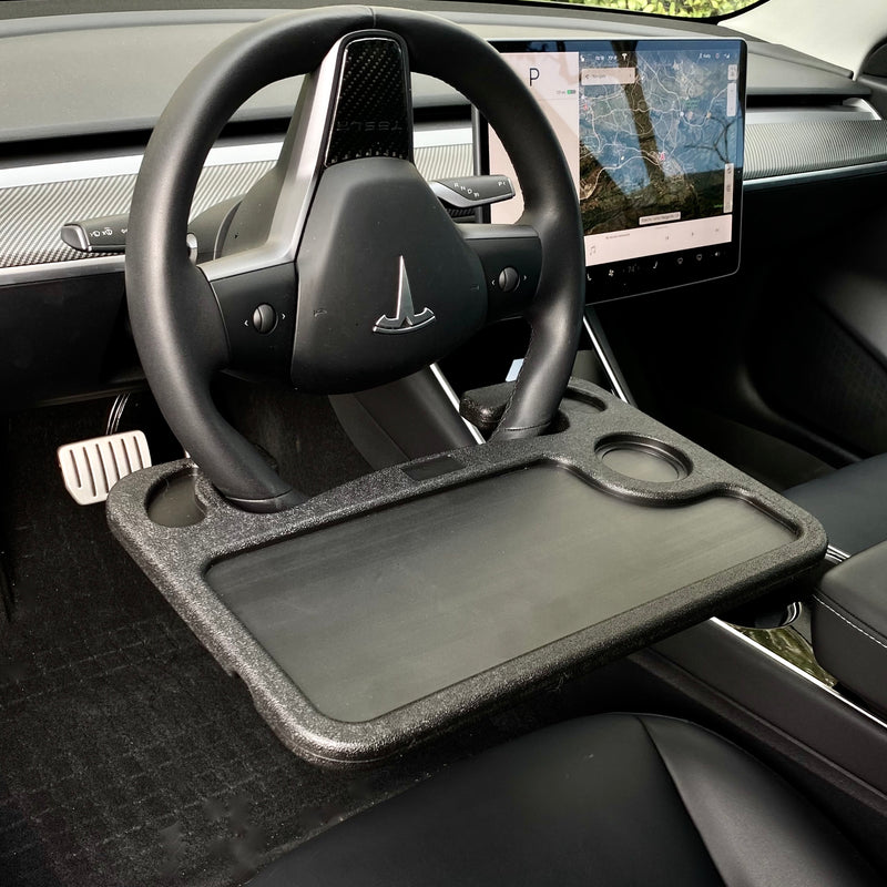 Steering Wheel Workstation Tray $39 (For Models S3X&Y)