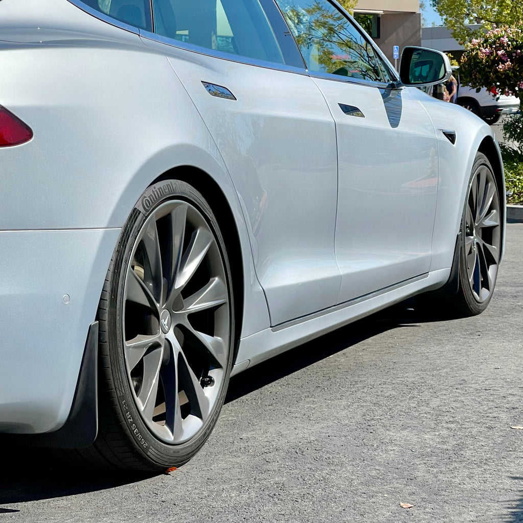 Model S Mud Flaps Screwless - $49 Shipped 2nd Day Air FedEx