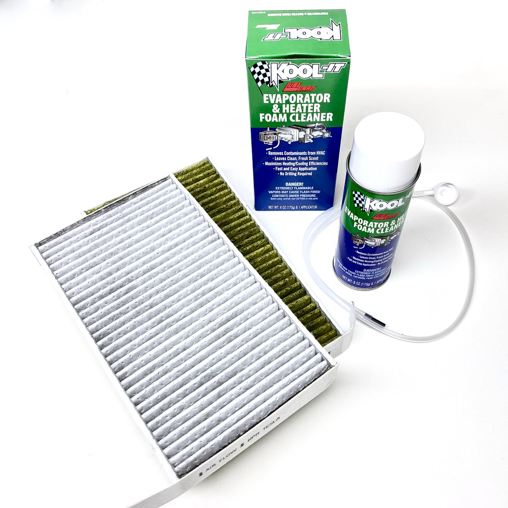 Model 3 & Y Cabin Filters & EVAP Cleaning Kit - $39 or $79 HEPA Filter