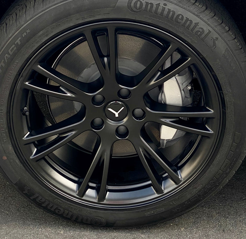 "Tesla Model Y Center Caps & Lug Nut Covers - 19"" Gemini Wheels- from $29"