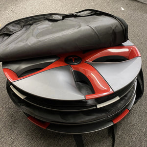 "Tesla Model 3 & Y Hubcap Storage Bag -(Fits Y - 19"" Gemini & 3 Aero 18"") $49"