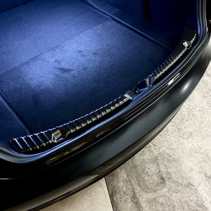 Model 3 Trunk & Frunk Sill Plate Covers -Carbon Fiber Coated - $49 w/ 20% OFF
