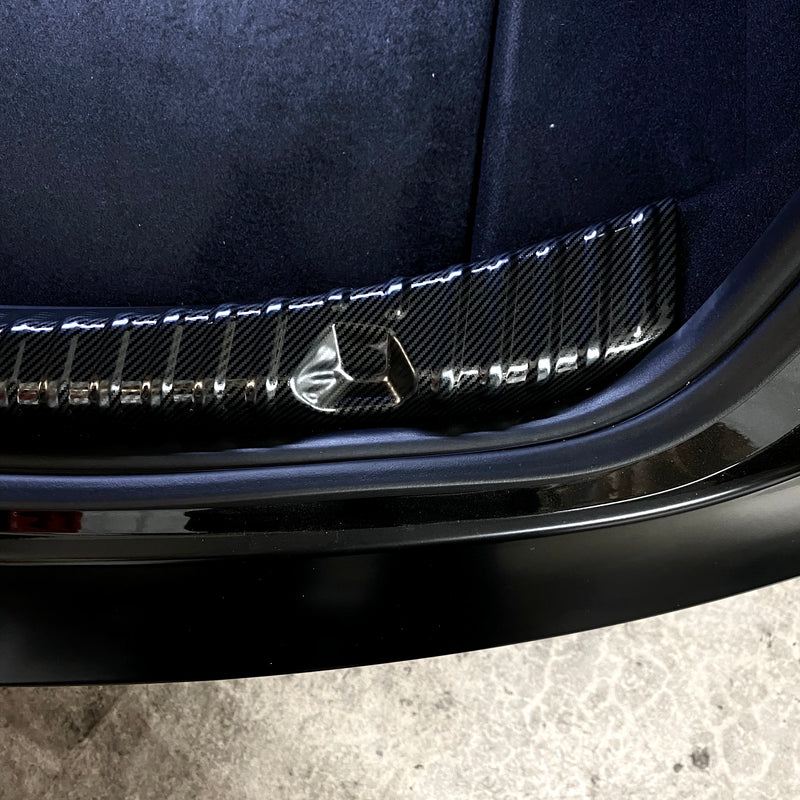 Model 3 Trunk Sill Plate Covers -Carbon Fiber Molded or Coated - $39 w/ 20% OFF
