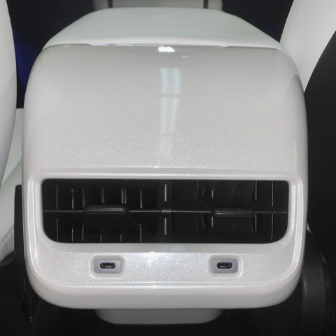 Model 3 & Y Center Console Glossy 3M Clear Wrap PPF
