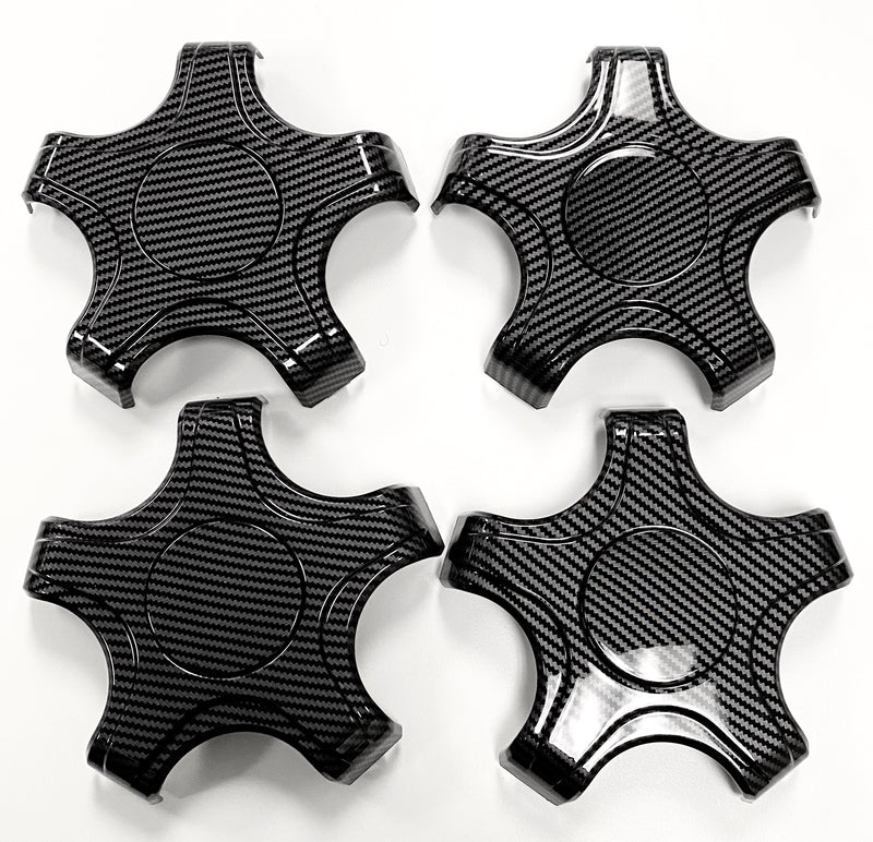 Model 3 Aero Wheel Carbon Fiber Coated Center Hubs (Set of 4 $69 with 20% Off)