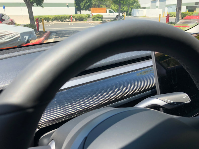 Model 3 Carbon Fiber Dashboards Replacements-  From $499
