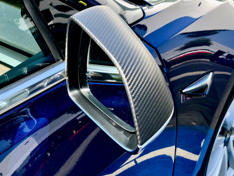 Model 3 Gen. 2 Carbon Fiber Mirror Caps From $139 (1 Pair)