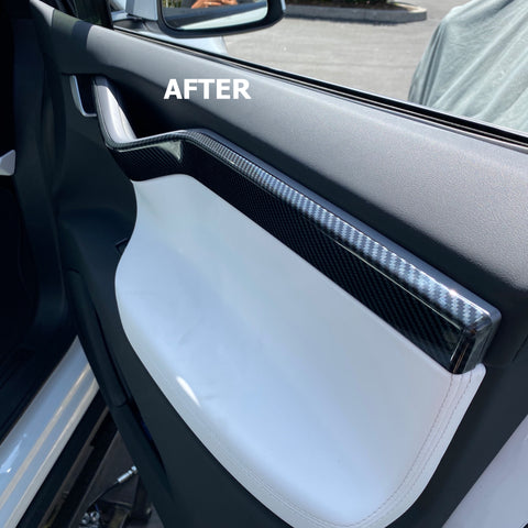 Model X Backseat Outer Door Sill Protector 1 Pair
