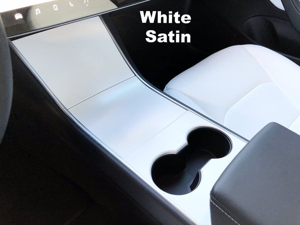Model 3 Center Console Vinyl Wraps Gen 2- Only $39 w/ 20% off