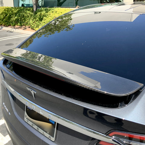 Model 3 Carbon Fiber Molded Foglight Eyelids - $129 Per Pair
