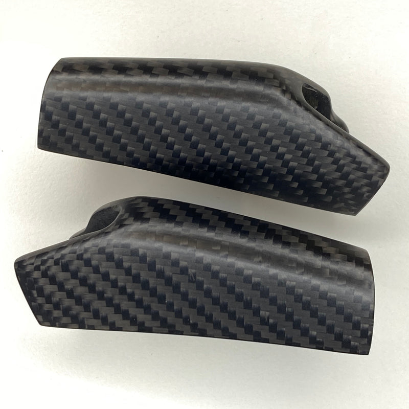 Model 3 & Y Carbon Fiber Molded End Cap Replacements Only $59