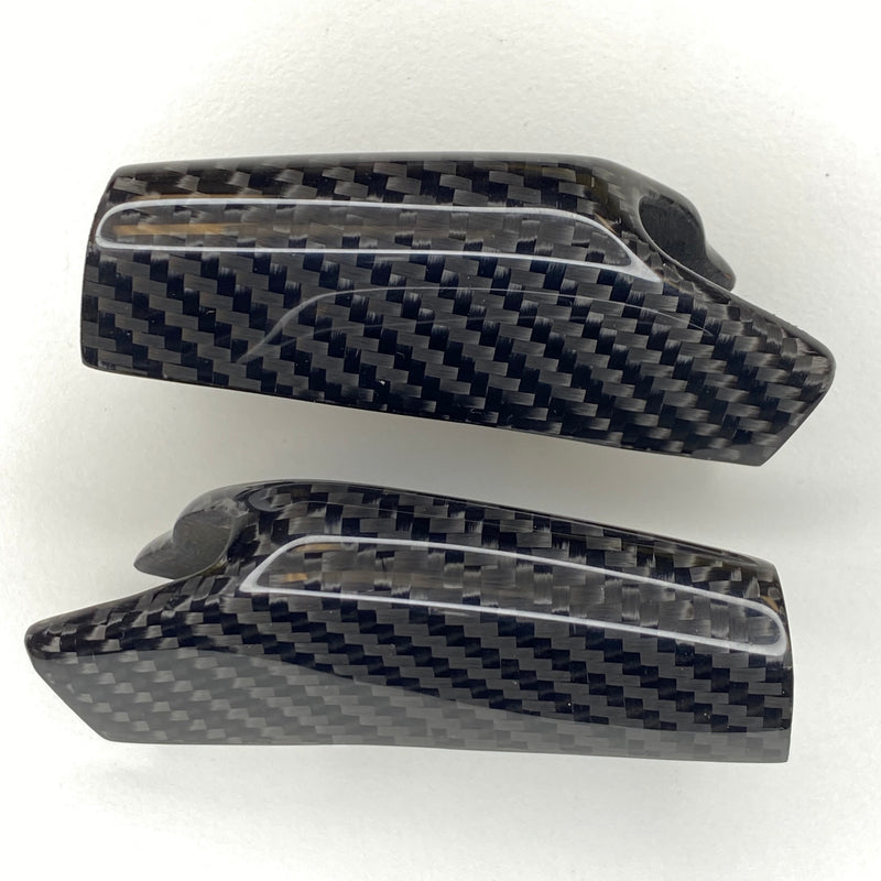 Model 3 & Y Carbon Fiber Dashboard End Cap Replacements Only $59