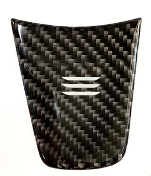Model 3 & Y Carbon Fiber Steering Wheel Applique' Insert From $25