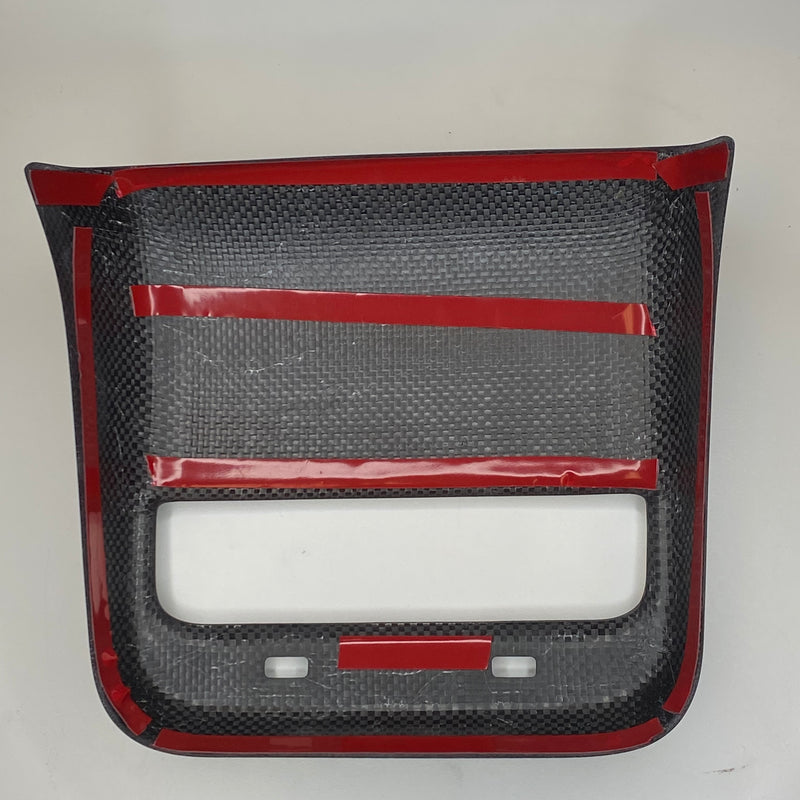 Model 3 & Y Backseat Vent Cover - $29 For Carbon Look or $ 99 for Real Carbon