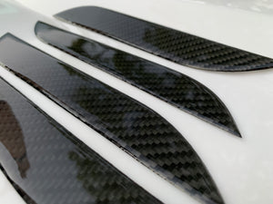Model S Molded Carbon Fiber Door Handle Covers ($29 w/ 20% OFF)