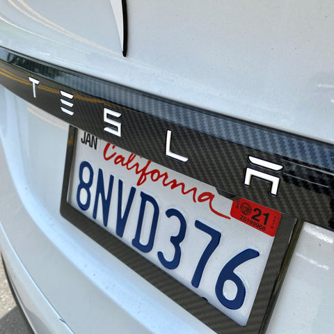 Model X Gen 2. Carbon Fiber Mirror Caps ($129-$139  1 Pair)