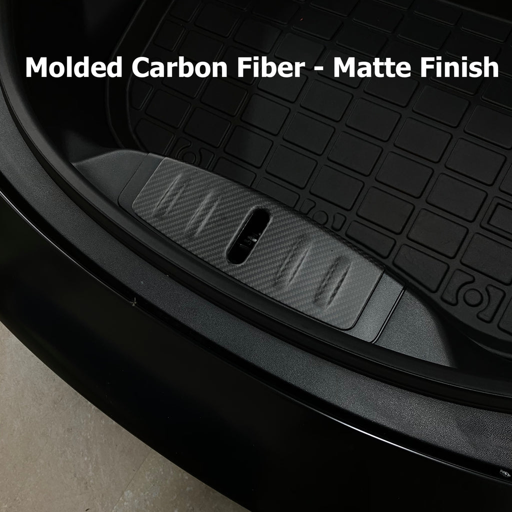 Model 3 Frunk Sill Plate Cover-Carbon Fiber Molded or Steel Coated- $19 or $49 w/ 20% OFF
