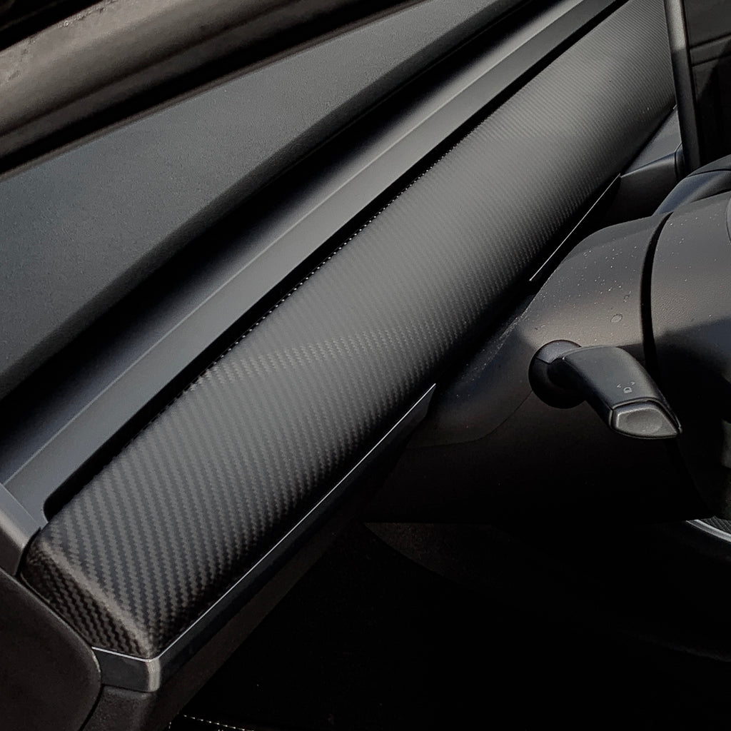 Model 3 & Y Carbon Fiber Dashboards Replacements-  From $499