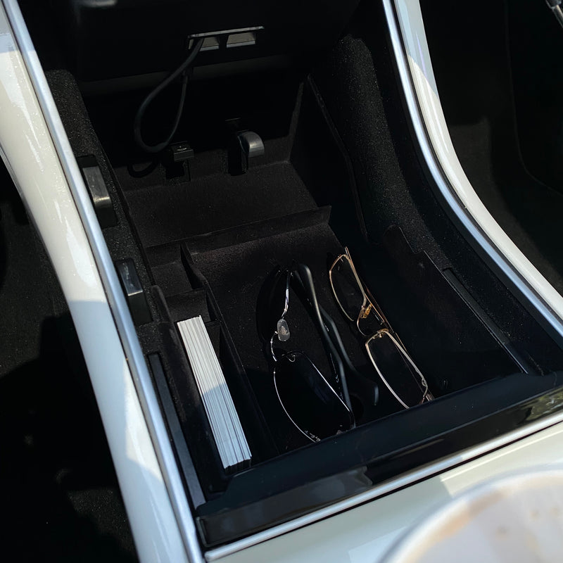 Model 3 & Y Center Console Full Tray with Trap Door Gen. 3 - From $49