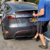 Model X Carbon Fiber Look Tailgate Applique & Front Inlay Caps - From $99