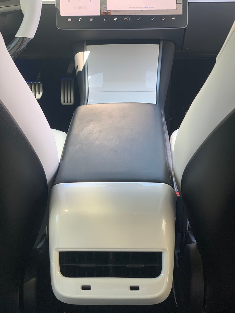 Model 3 & Y Backseat Vent Cover - White Pearl (Only $39 w/ 20% OFF)