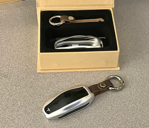 Model S & 3 & Y Carbon Fiber Key FOB Case ($24 or $59)