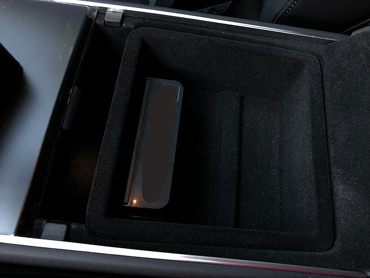 Coin Change Holder Fits Model S & X- Velcro