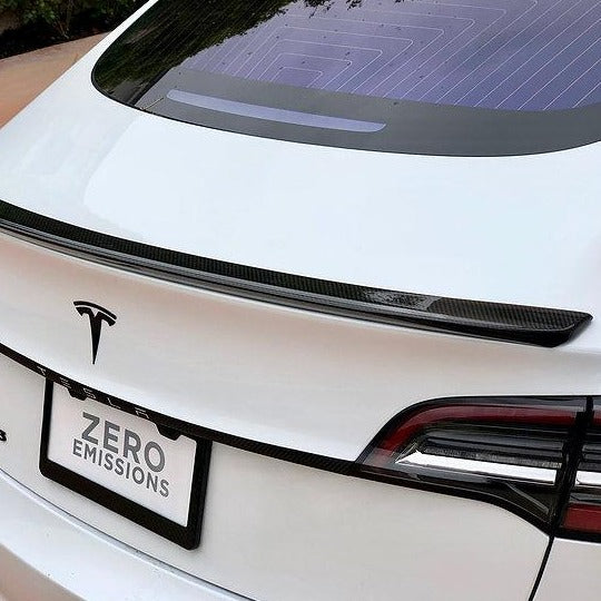 Model 3 Carbon Fiber Spoiler/ Blade ($229 w/ 20% OFF) SHIPS IN 7-21 DAYS