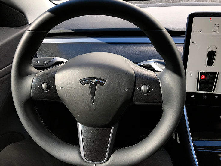 Model 3 Steering Wheel Vinyl Accent Wraps