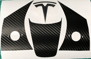 Model 3 & Y Steering Wheel Vinyl Accent Wraps
