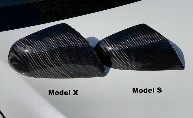Model X Gen 2. Carbon Fiber Mirror Caps From $139