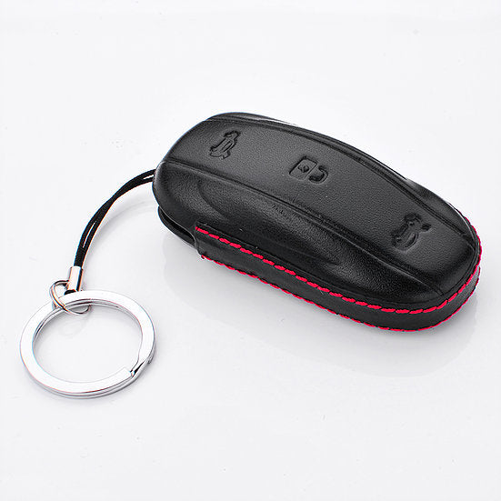 Leather Key FOB Protector for Model S, 3, Y, & X From $19