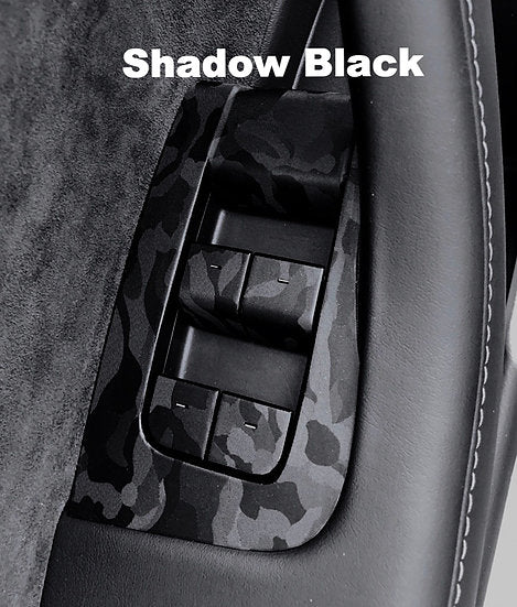 Model 3 & Y Console Shadow Black Wrap (only $39 w/ 20% OFF)