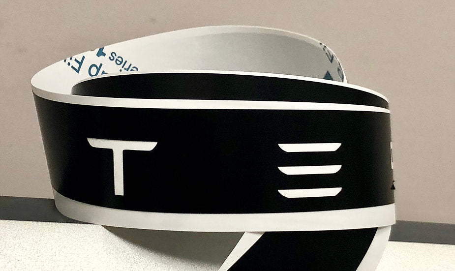 Model S Appliqué Vinyl Wrap Skin (Color & Size Choice)