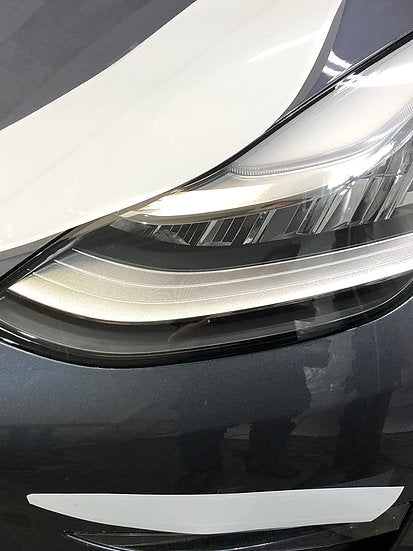 Model 3  Headlight Protection Film (Clear or Smoked) Set of 4