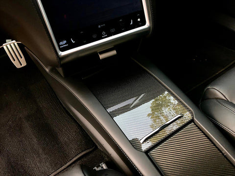 Model S & X Center Console Tray -  Wireless Charging Option ( $29 or $59)