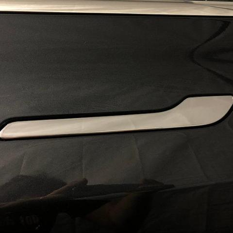 Model 3 Front Door Sill Protectors - Clear Bra (1 Pair) ($28 with 20% off)