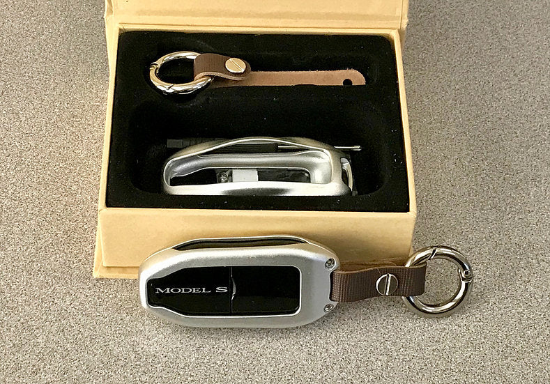 Model S, X, or 3 Aluminum Key FOB Covers (Only $29 w/ 20% off)