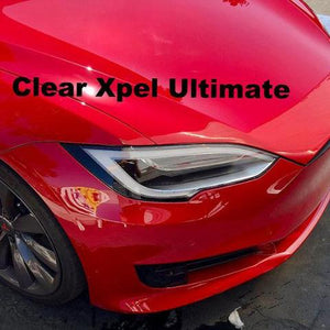 Model S Headlight Protection Film Clear Or Smoked Set Of 4 Rpm Tesla