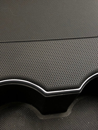 Model 3 & Y Console Black Matrix Wrap (only $39 w/ 20% OFF)