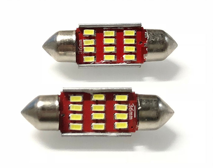 LED License Plate Bulb Kit - Model S (Fits 2012-2014) 1 Pair