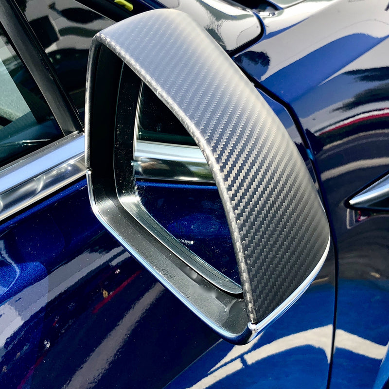Model S Carbon Fiber Mirror Caps Gen. 2 From $139 (1 Pair)