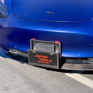 Model 3 & Y License Plate Lowering Bracket - Touchless - $79 with 20% Off