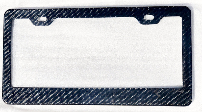 Carbon Fiber License Frame - Glossy Finish (Only $29 with 20% Off)