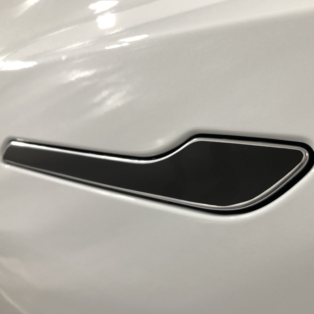Model 3 Door Handle Front Face Vinyl Wrap (Only $12 with 20% off)