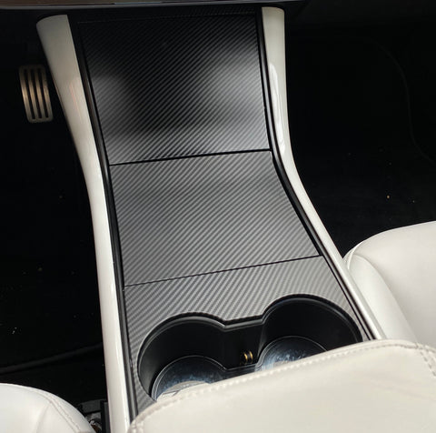 Model 3 Carbon Fiber Steering Wheel Applique' Insert