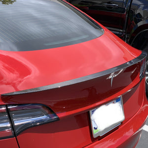 Model 3 Performance Spoiler Molded Carbon Fiber, From $229
