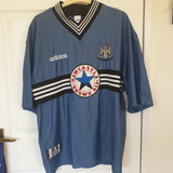 Newcastle United Away Shirt 1996/7 #10 Ferdinand XL